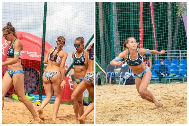 Plaża Open 2021 w Białymstoku. Piękne siatkarki walczą o zwycięstwo na Dojlidach