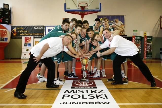 24 maja 2009 roku. Korona Kraków - mistrz Polski juniorów w koszykówce