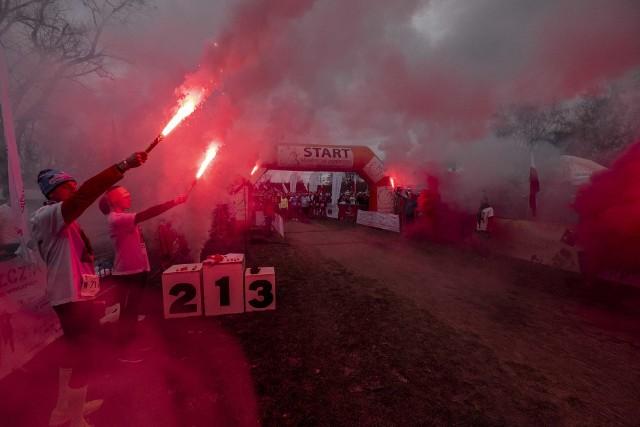 W niedzielę, 1 marca nad Jeziorem Strzeszyńskim w Poznaniu odbył się Bieg Tropem Wilczym ku Pamięci Żołnierzy Wyklętych. Wzięło w nim udział ponad 800 osób. Zawodnikom towarzyszył nasz fotoreporter.Kolejne zdjęcie --->
