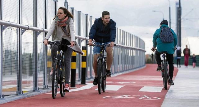 Pod względem długości budowanych ścieżek rowerowych Małopolska jest krajowym liderem