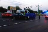 Poznań: Wypadek na Hetmańskiej. Motornicza tramwaju wjechała na czerwonym świetle. Zginął 8-letni chłopiec
