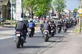 Pielgrzymka motocyklowa przejechała ulicami miasta [zdjęcia]