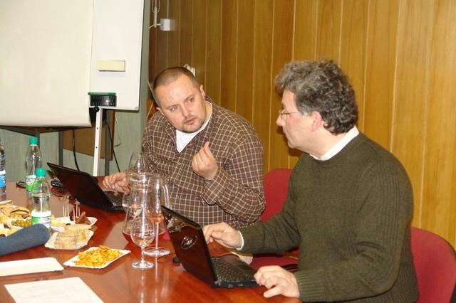 Od lewej: Mariusz Kapczyński i Wojciech Bosak