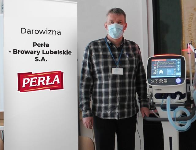 lek. med. Dariusz Gałecki – Dyrektor Samodzielnego Publicznego Zespołu Opieki Zdrowotnej w Hrubieszowie