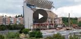 Vicente Calderon przechodzi do historii. Trwa ostatni etap rozbiórki dawnego stadionu Atletico Madryt