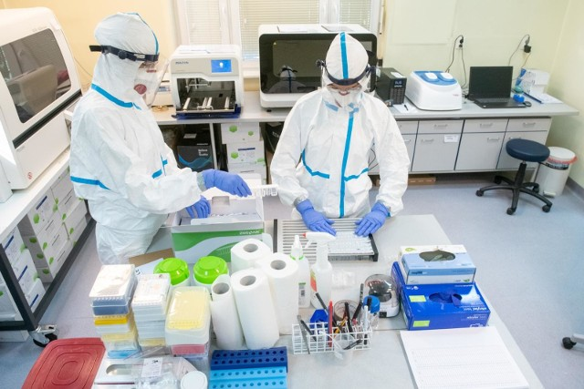 W Województwie Kujawsko - Pomorskim jest 14375 przypadków aktywnie zarażonych osób koronawirusem