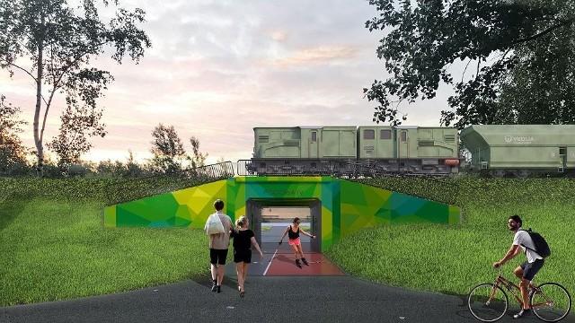 Tak ma wyglądać nowy tunel pod torami kolejowymi, łączącymi Pogorię III i Pogorię IV