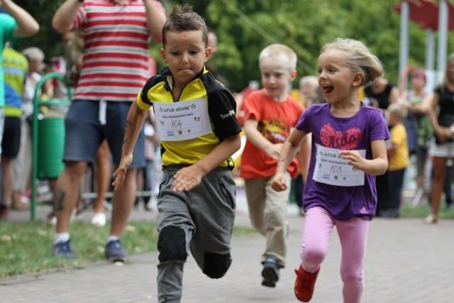 Bieg Przedszkolaka zawsze cieszy się wśród małych biegaczy powodzeniem