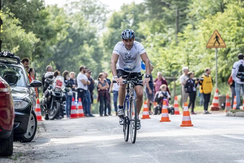Tomasz Marcinek z Raciborza wygrał zawody Triathlon Kiekrz...