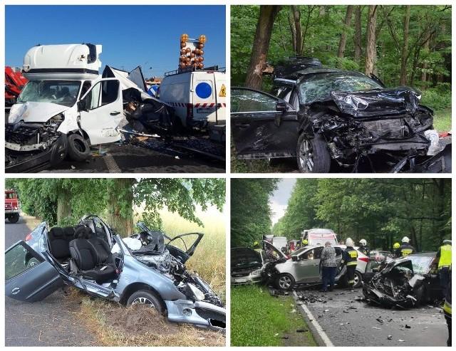 Każdego miesiąca na wielkopolskich drogach dochodzi do wielu wypadków samochodowych. Według policyjnych statystyk w dniach od 1 do 29 lipca w województwie wielkopolskim doszło do 193 wypadków i 2188 kolizji. Zginęło 16 osób, a 227 zostało rannych. W galerii przedstawiamy przegląd wypadków z lipcu 2021 roku.Przejdź dalej --->
