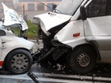 Zderzenie aut w gminie Mrocza. Za kierownicą jednego z pojazdów 15-latek