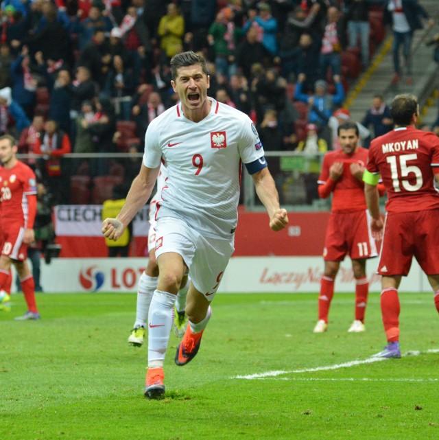 Lewandowski otworzył wynik meczu.
