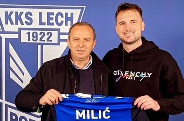 Antonio Milić, nowy stoper Lecha Poznań