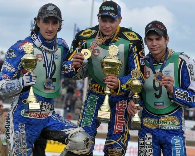 Od lewej: Holder, Saifutdinow i Pavlic