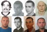 Poszukiwani przez policję z województwa łódzkiego: Landryn, Szatan, Destroyer, Gebels, Tusza, Cyngiel i Smalec LISTA 23.04.2021