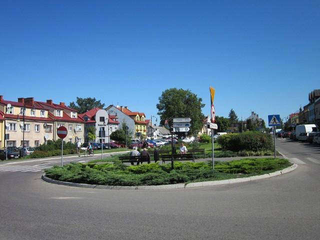 Ciechanowiec, centrum miasta