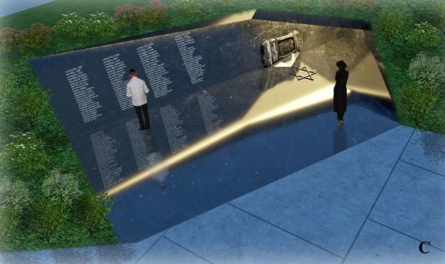 Hanna Januszkiewicz i Paweł Czeszczewik projektując przyszłe zagospodarowanie placu Moniuszki zwracają też uwagę na położony w pobliżu, zasypany cmentarz żydowski. Stąd pomysł na tablicę upamiętniającą ten fakt w świadomości mieszkańców i gości opery.