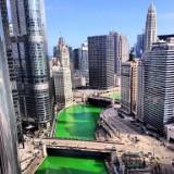 Cały świat obchodzi dzień świętego Patryka. Sławne budowle podświetlone na zielono