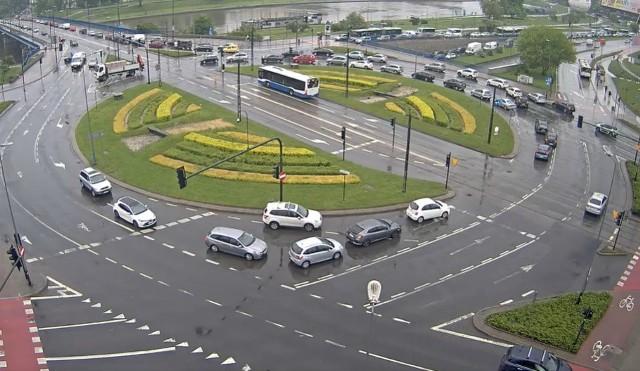 Utrudnienia w Krakowie, 18 maja