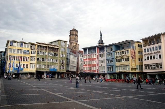Marktplatz w sobotnią noc należał do łódzkiego street artu