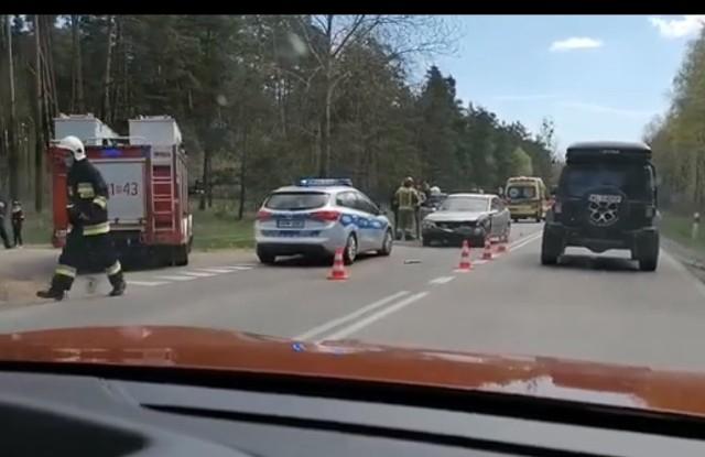 Wypadek w Białogrądach