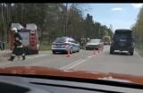 Wypadek na trasie Mońki - Grajewo. Trzy osoby ranne