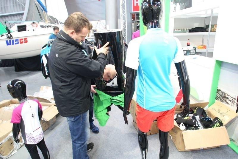 Przygotowania do targów Sport-Expo...