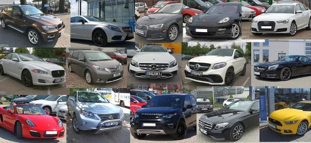 Przedstawiamy 20 najdroższych używanych samochodów na sprzedaż z Białegostoku i okolicy. Najwięcej jest Mercedesów, ale są też Jaguar, BMW, Audi i inne. Powtarzające się modele pominęliśmy. Wszystkie oferty pochodzą z serwisu gratka.pl.