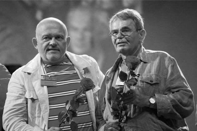 Jerzy Janeczek (z prawej)