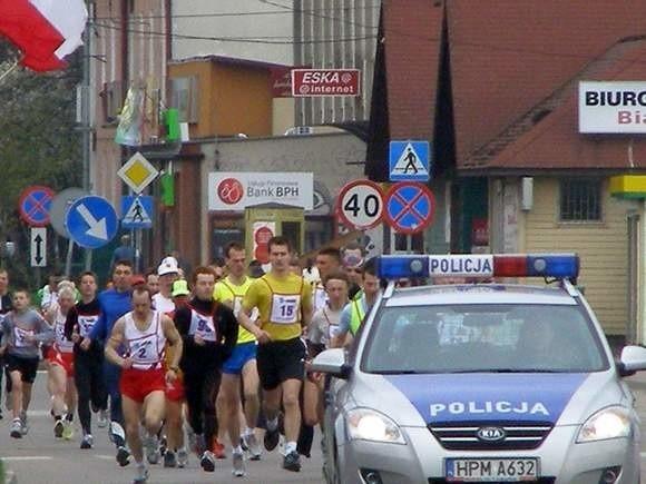 Pod koniec kwietnia w Łapach odbyła się już impreza biegowa poświęcona Waldemarowi Kikolskiemu