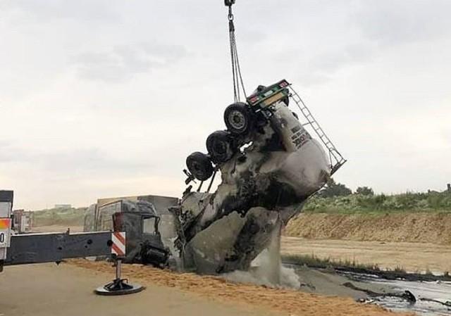 Do wypadku na DK 1 w Bogusławicach doszło w czwartek, 2 lipca 2020 roku