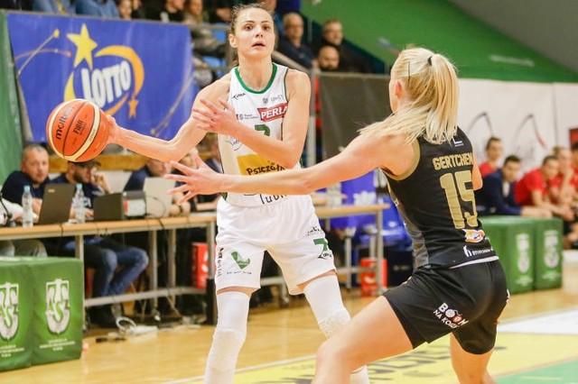 Agnieszka Szott-Hejmej w sezonie 2019/20 występowała w barwach Pszczółki Polski-cukier AZS UMCS Lublin