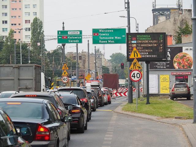 Drogowy armagedon na Przybyszewskiego i Śmigłego - Rydza