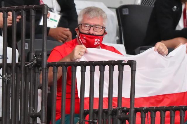 Ryszard Czarnecki wybrał się specjalnie do Tokio, żeby kibicować polskim sportowcom.
