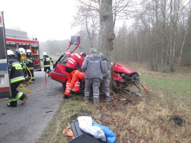Śmiertelny wypadek koło Jastrowia.