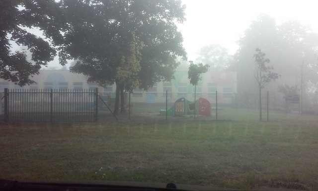Bydgoszcz ukryta we mgle