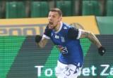 Lech Poznań zaliczył wybuch radości w ostatniej akcji meczu z Wartą. Tak wyglądał Pedro Tiba, strzelając zwycięskiego gola