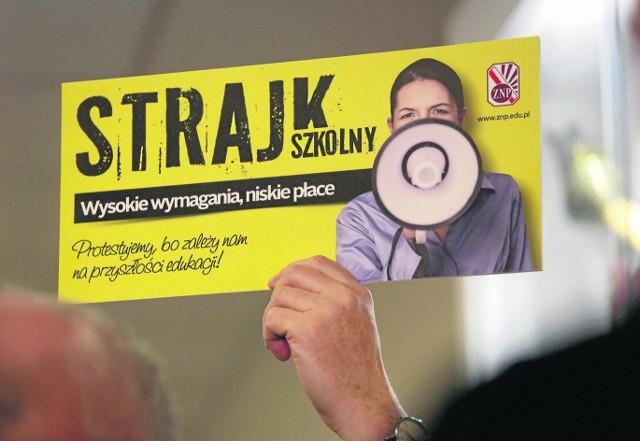 Zgodnie z zapowiedziami nauczycieli strajk ma się rozpocząć już 8 kwietnia. Ile potrwa, jeszcze nie wiadomo