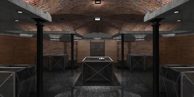 Tak będzie wyglądała podziemna sala przy katedrze.