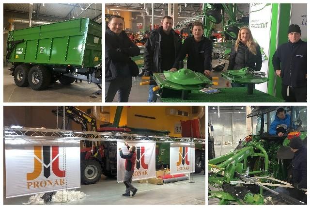 Podlascy producenci maszyn rolniczych i komunalnych - Pronar oraz SaMASZ - przygotowują swoje stoiska na targach Agro Show 2019 w Ostródzie, które odbędą się już w najbliższy weekend.
