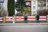 Białystok. Protest przed Konsulatem Białorusi. Wspomnienie Romana Bondarenki (zdjęcia)