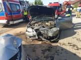 Dwa wypadki w Egiertowie. 14 i 15.06.2020 r. Łącznie 3 osoby poszkodowane. Trafiły do szpitali w Kartuzach i w Kościerzynie