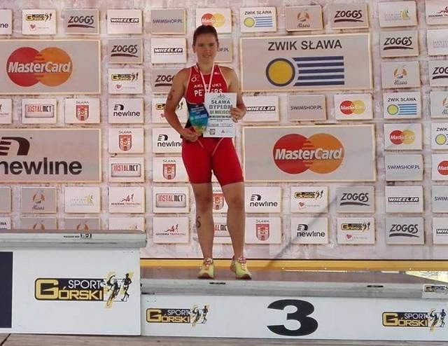 Klaudia Petters wywalczyła w Sławie brązowy medal.
