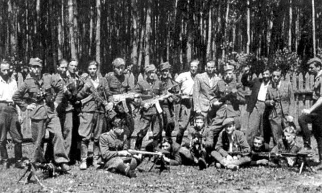 "Partyzanci WiN mjr ""Orlika"" – pluton Bolesława Mikusa ""Żbika"", Lato 1946"
