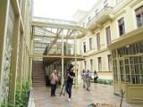 Łódź. Finisz remontu podwórka i oficyny pałacu Goldfedera przy ul. Piotrkowskiej 77