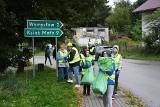 """Gmina Słaboszów. Podczas """"Sprzątania świata"""" zebrano 750 kg odpadów [ZDJĘCIA]"""