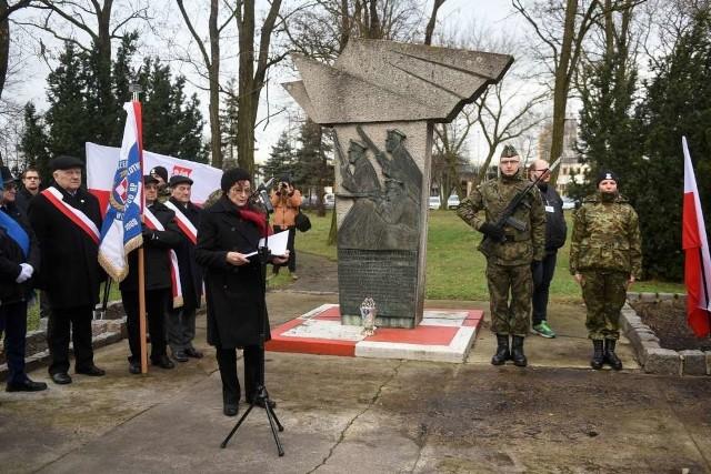 Jak co roku pod pomnikiem na Ławicy odbyły się uroczystości rocznicowe walk z 1919 r.