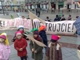 Happening ekologiczny na Rynku Kościuszki  (wideo)