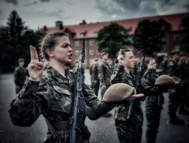 Czterdziestu żołnierzy Obrony Terytorialnej złożyło przysięgę wojskową