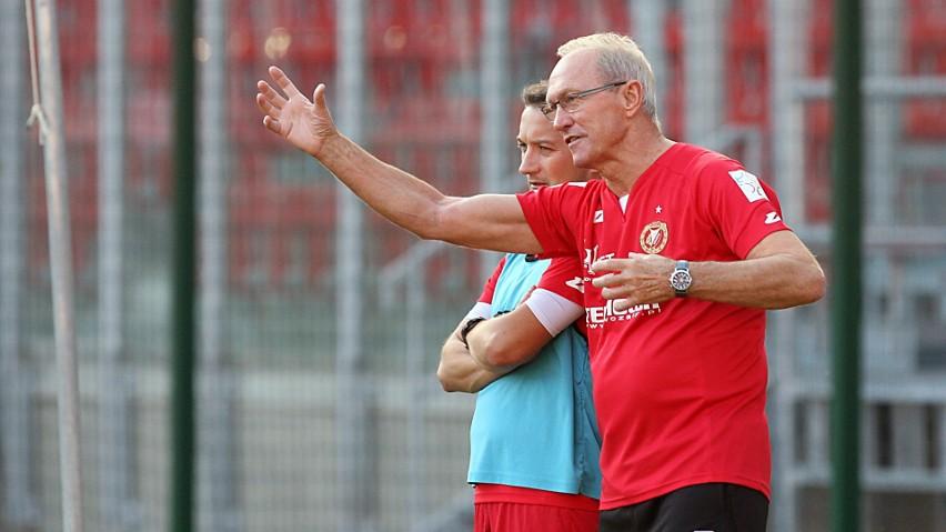 Trener Franciszek Smuda i asystent Marcin Broniszewski pracowali już razem w Widzewie